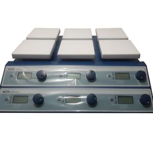 Agitador magnético digital de múltiples puestos