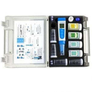 Medidor premium de potencial de reducción, sólidos totales disueltos, pH, salinidad y conductividad de bolsillo serie 60